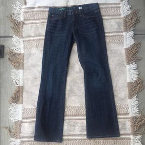 J. Crew Stretch Bootcut Darkwash Denim Jeans
